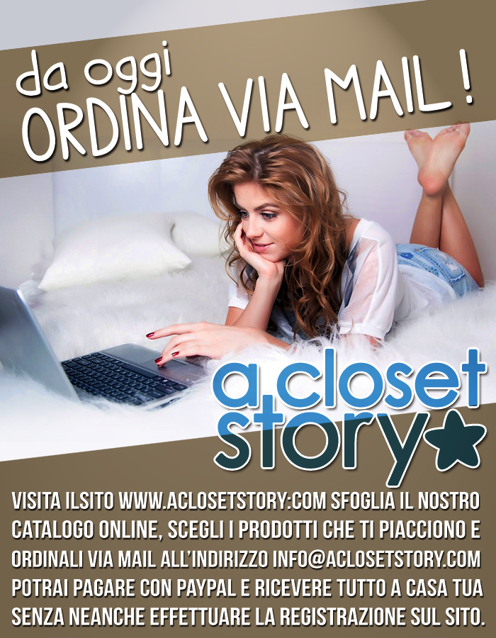 ordini via mail su a Closet Story